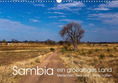 Sambia - ein großartiges Land (Wandkalender 2019 DIN A3 quer), R. Siemer