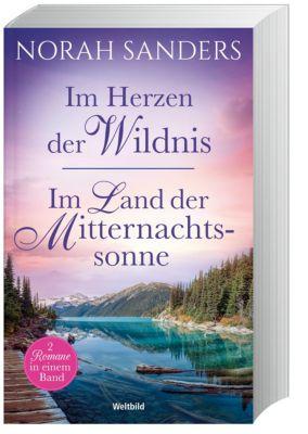 Sammelband Im Herzen der Wildnis/Im Land der Mitternachtssonne, Norah Sanders