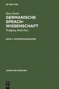 Sammlung Goschen: Wortbildungslehre, Hans Krahe