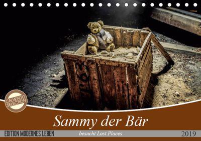 Sammy der Bär besucht Lost Places (Tischkalender 2019 DIN A5 quer), SchnelleWelten