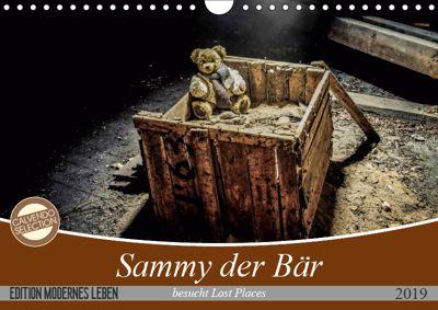 Sammy der Bär besucht Lost Places (Wandkalender 2019 DIN A4 quer), SchnelleWelten