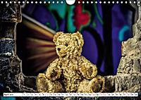 Sammy der Bär besucht Lost Places (Wandkalender 2019 DIN A4 quer) - Produktdetailbild 4