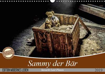 Sammy der Bär besucht Lost Places (Wandkalender 2019 DIN A3 quer), SchnelleWelten