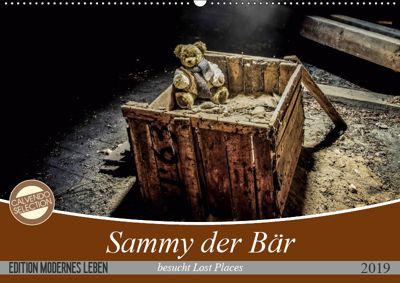 Sammy der Bär besucht Lost Places (Wandkalender 2019 DIN A2 quer), SchnelleWelten
