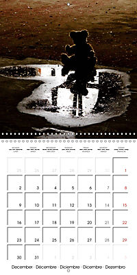 Sammy visits abandoned places (Wall Calendar 2019 300 × 300 mm Square) - Produktdetailbild 12