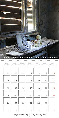 Sammy visits abandoned places (Wall Calendar 2019 300 × 300 mm Square) - Produktdetailbild 8