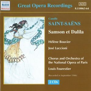 Samson Und Dalila, Bouvier, Luccioni, Fourestier