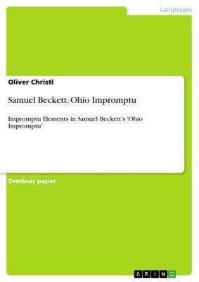 Samuel Beckett: Ohio Impromptu, Oliver Christl