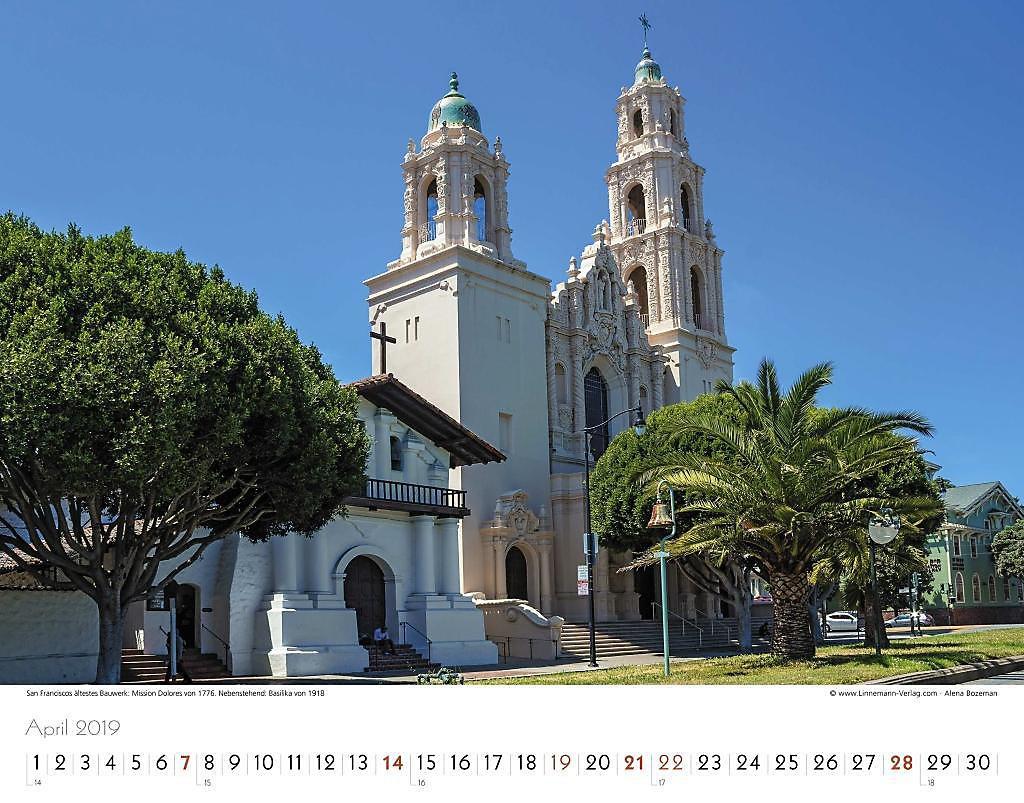 San Francisco 2019 - Kalender günstig bei Weltbild.de bestellen