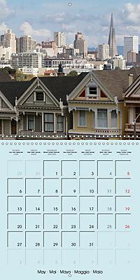 San Francisco Golden Gate City (Wall Calendar 2019 300 × 300 mm Square) - Produktdetailbild 5