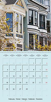 San Francisco Golden Gate City (Wall Calendar 2019 300 × 300 mm Square) - Produktdetailbild 2