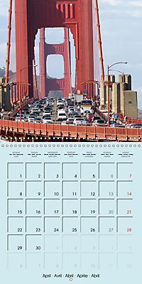 San Francisco Golden Gate City (Wall Calendar 2019 300 × 300 mm Square) - Produktdetailbild 4