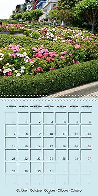 San Francisco Golden Gate City (Wall Calendar 2019 300 × 300 mm Square) - Produktdetailbild 10