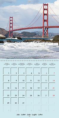 San Francisco Golden Gate City (Wall Calendar 2019 300 × 300 mm Square) - Produktdetailbild 7