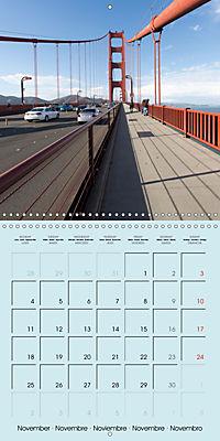San Francisco Golden Gate City (Wall Calendar 2019 300 × 300 mm Square) - Produktdetailbild 11