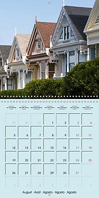 San Francisco Golden Gate City (Wall Calendar 2019 300 × 300 mm Square) - Produktdetailbild 8