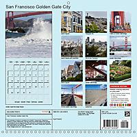 San Francisco Golden Gate City (Wall Calendar 2019 300 × 300 mm Square) - Produktdetailbild 13