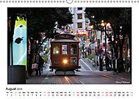 San Francisco Metropolis at the Golden Gate / UK-Version (Wall Calendar 2019 DIN A3 Landscape) - Produktdetailbild 8
