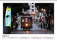 San Francisco Metropolis at the Golden Gate / UK-Version (Wall Calendar 2019 DIN A3 Landscape) - Produktdetailbild 8