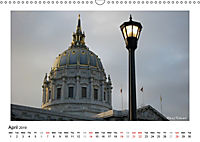 San Francisco Metropolis at the Golden Gate / UK-Version (Wall Calendar 2019 DIN A3 Landscape) - Produktdetailbild 4