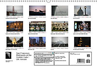San Francisco Metropolis at the Golden Gate / UK-Version (Wall Calendar 2019 DIN A3 Landscape) - Produktdetailbild 13