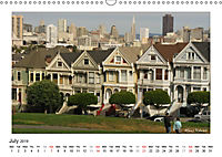 San Francisco Metropolis at the Golden Gate / UK-Version (Wall Calendar 2019 DIN A3 Landscape) - Produktdetailbild 7