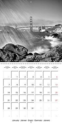 SAN FRANCISCO Monochrome Highlights (Wall Calendar 2019 300 × 300 mm Square) - Produktdetailbild 1