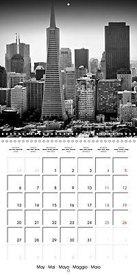 SAN FRANCISCO Monochrome Highlights (Wall Calendar 2019 300 × 300 mm Square) - Produktdetailbild 5