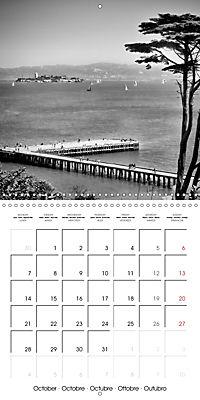 SAN FRANCISCO Monochrome Highlights (Wall Calendar 2019 300 × 300 mm Square) - Produktdetailbild 10