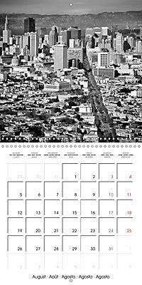 SAN FRANCISCO Monochrome Highlights (Wall Calendar 2019 300 × 300 mm Square) - Produktdetailbild 8