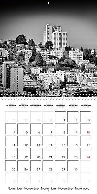 SAN FRANCISCO Monochrome Highlights (Wall Calendar 2019 300 × 300 mm Square) - Produktdetailbild 11