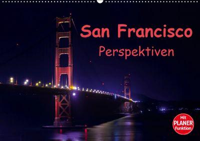 San Francisco PerspektivenCH-Version (Wandkalender 2019 DIN A2 quer), Andreas Schön