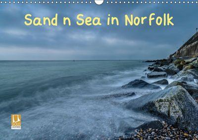 Sand n Sea in Norfolk (Wall Calendar 2019 DIN A3 Landscape), Gary Rayner
