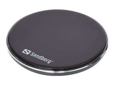 SANDBERG Wireless Ladegerät Pad 10W Alu