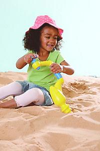Sandbohrer, ca. 45cm Farbe gelb/blau - Produktdetailbild 1