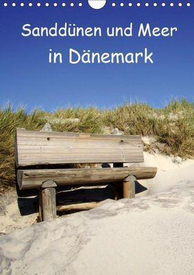 Sanddünen und Meer in Dänemark (Wandkalender 2019 DIN A4 hoch), Beate Bussenius