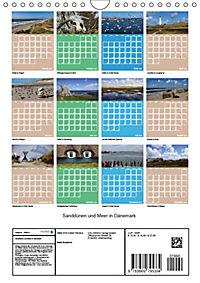 Sanddünen und Meer in Dänemark (Wandkalender 2019 DIN A4 hoch) - Produktdetailbild 1