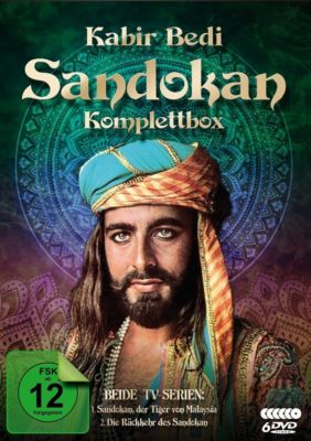 Sandokan Komplettbox, Emilio Salgari