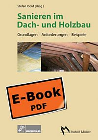 sanieren im dach und holzbau buch bei bestellen. Black Bedroom Furniture Sets. Home Design Ideas