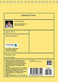Sansibars Türenkunst (Tischkalender 2019 DIN A5 hoch) - Produktdetailbild 13