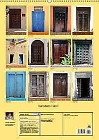 Sansibars Türenkunst (Wandkalender 2019 DIN A2 hoch) - Produktdetailbild 6