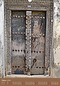 Sansibars Türenkunst (Wandkalender 2019 DIN A3 hoch) - Produktdetailbild 10