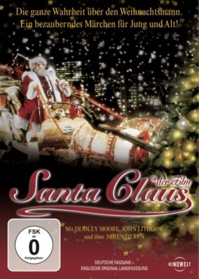 Santa Claus, 1 DVD, Dudley Moore