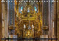 Santiago de Compostela - Ziel einer Pilgerreise (Tischkalender 2019 DIN A5 quer) - Produktdetailbild 6