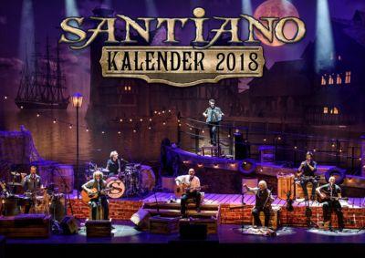 Santiano Kalender 2018, Santiano