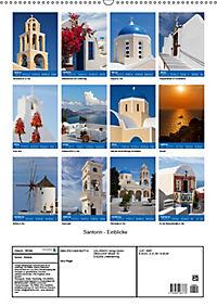 Santorin - Einblicke (Wandkalender 2019 DIN A2 hoch) - Produktdetailbild 13