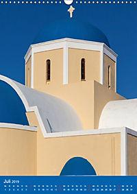 Santorin - Einblicke (Wandkalender 2019 DIN A3 hoch) - Produktdetailbild 7
