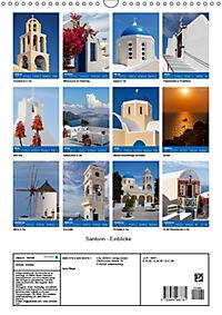 Santorin - Einblicke (Wandkalender 2019 DIN A3 hoch) - Produktdetailbild 13