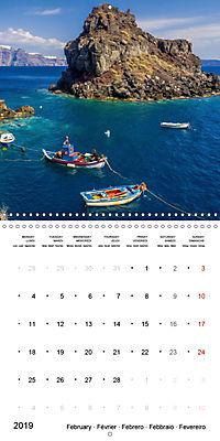 SANTORINI Caldera Views (Wall Calendar 2019 300 × 300 mm Square) - Produktdetailbild 2