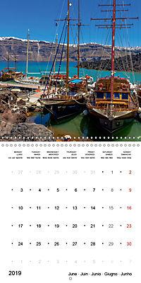 SANTORINI Caldera Views (Wall Calendar 2019 300 × 300 mm Square) - Produktdetailbild 6